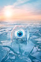 Ice Eye by Gearsofcreativity