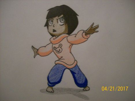 Rita chibi.... again... BUT BETTER by zachgolden1999