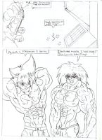 Double Test Subjects 3. by Somdude424