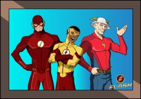 The Flash TV Series: THE FLASH FAMILY (JKM) by MAD-54