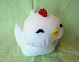 Fat Chicken plushie by XOFifi