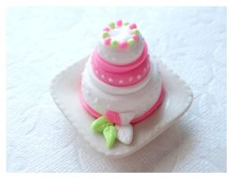 Pink Summer Cake by Shiritsu