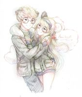 .:TradComm:. Fluffy Love by Asu-hime