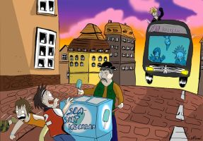 The bus ride to icecream by land3
