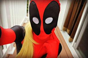 Lady Deadpool needs love too. by Caram3llo