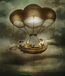 Come Take a Trip in my Airship by JinxMim