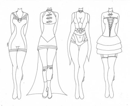 Lydia~ (Outfit Designs) by Lovepiko
