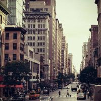 New York - near Flatiron by DarkSaiF