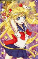She's the Sailor of the Moon by oXxSunlitRosesxXo