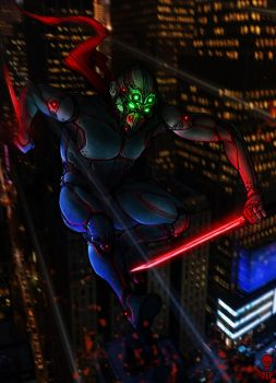 TECNO NINJA WARRIOR by The-Last-Phantom