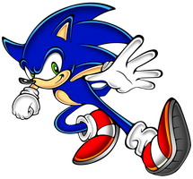 Sonic S.A style reload by megax88