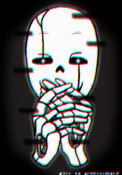 This Gaster is planning something! - Gif. by SoulerClash