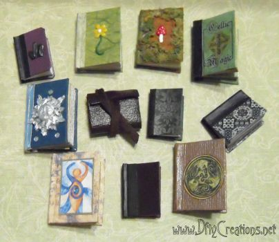 Miniature Books by DFLY847