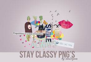 Stay classy PNG'S by one21guns
