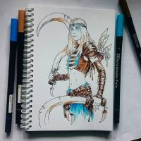 Instaart - Unknown brave girl by Candra