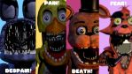 Fnaf 2 Withered Poster by FranciscoFB