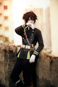 Hyakuya Costume Owari no Seraph made by me by dovananh27031993