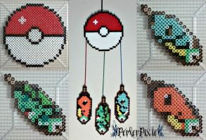 Pokemon DreamCatcher by PerlerPixie