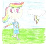 She's Still Be Faster at Halftime by 04StartyCornOnline88