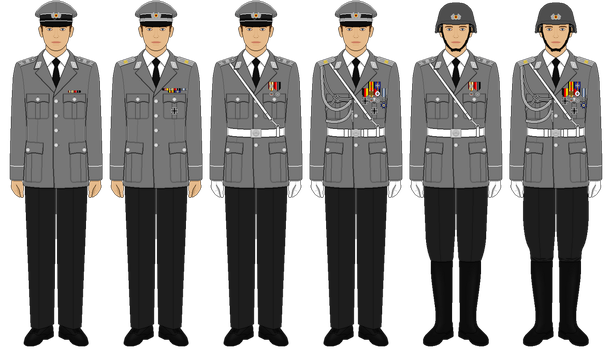 Redesigned Wachbataillon Uniforms by tsd715
