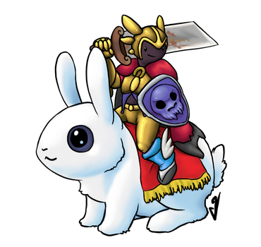 Bunny Mount by Incoherrant