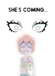 - She's coming... - by PencilTree