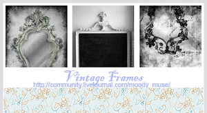 Vintage Frames by chaoticfae