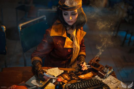 Fallout 4 cosplay - Piper by ver1sa