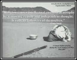 Religion robs you of yourself. by AAtheist