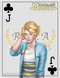 Jack of Clubs Yoosung by sasusaku-uchiha0718
