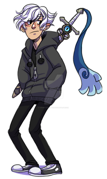Trainer Collin by AngryArtist113