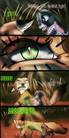 Zootopia comic - Savage page1 by moondaneka