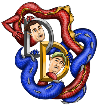 Team Double Dragon Fan Art by HarlandGirl