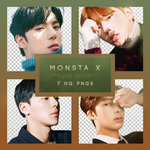 MONSTA X THE CODE: PROTOCOL Png pack by RoxyNeonColors