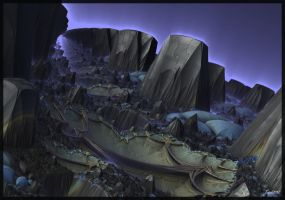 The Valley of Aliens by Topas2012