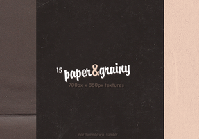 paper and grainy I texture pack by northerndawn