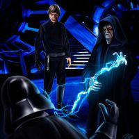 Dark Side Luke by PieroMng