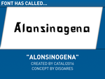 Alonsinogena (v1) by CataArchive