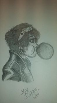 Jubilee Pencil Sketch by Mickeyd489