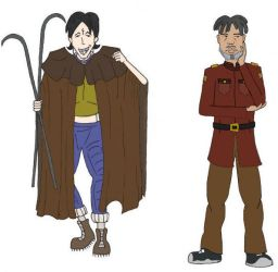 Daria-Dune: Kevin, Mack by ravenclaw42