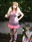 My Halloween dead fairy costume and make-up by Pixie-Aztechia