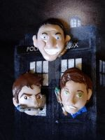 Doctor Who Magnets - 9th 10th 11th by HeyLookASign