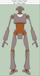 T-Series Tactical Droid BX - Droid Leader by vidopro97