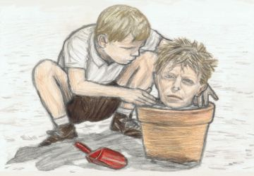 Merry Christmas Mr Lawrence - Jack in a flowerpot by gagambo