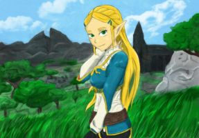 Zelda by A-Fistful-Of-Kittens