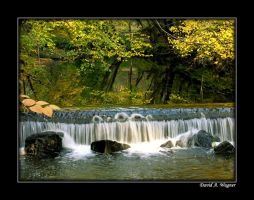 Waterfall by David-A-Wagner