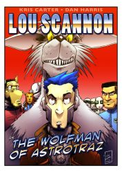 The Wolfman Of Astrotraz COVER by Drivaaar