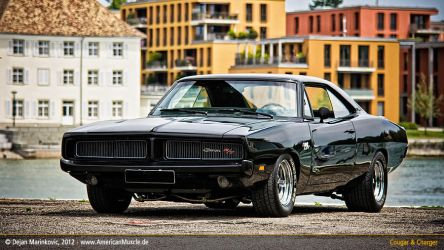black 1969 dodge charger I by AmericanMuscle