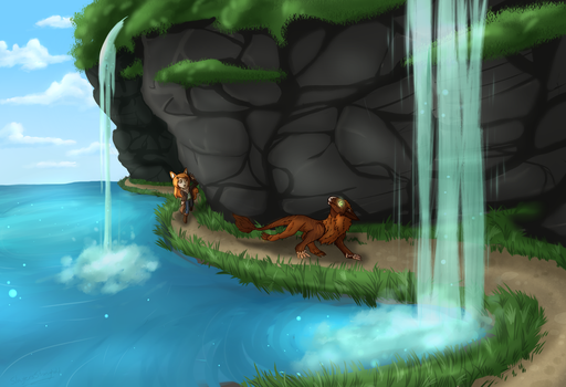 Wonders Under the Falls by SlayersStronghold