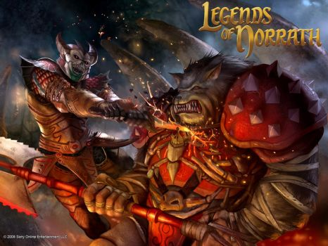 thLegend Of Norrath Card Set 6 by masterchomic